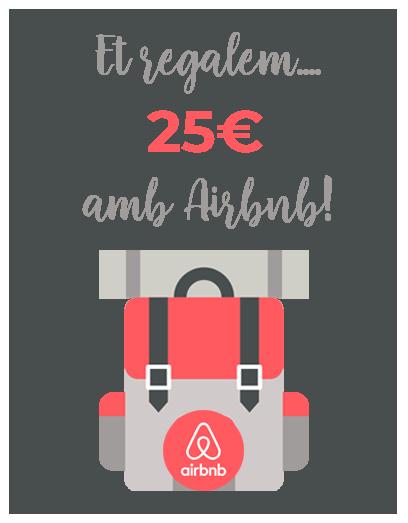 25€ de regal a Airbnb!