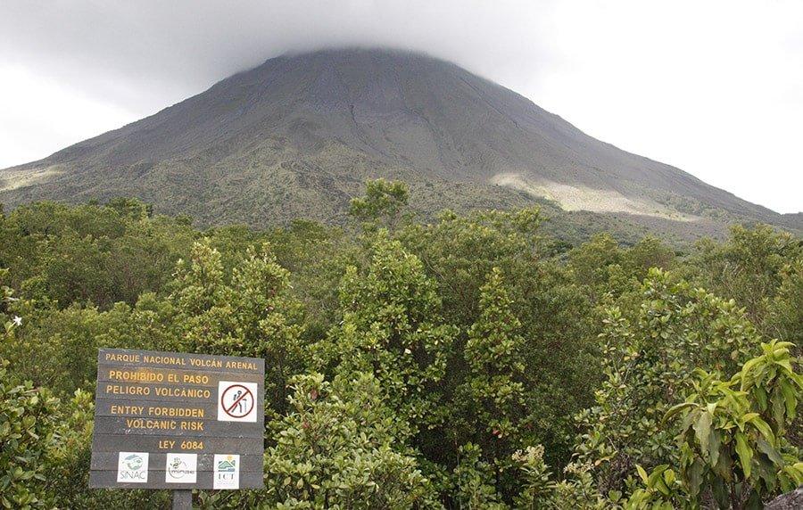 Volcán Arenal, a prop de La Fortuna