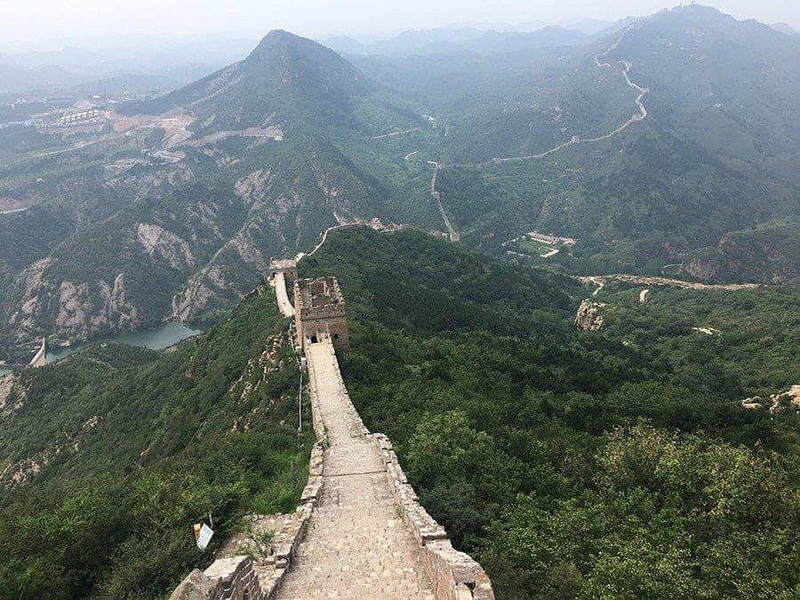 La Gran Muralla Xinesa, tram de Simatai