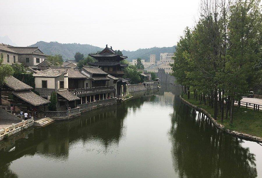 Visitant el poble de Gubei Water Town, de camí a la Gran Muralla Xinesa