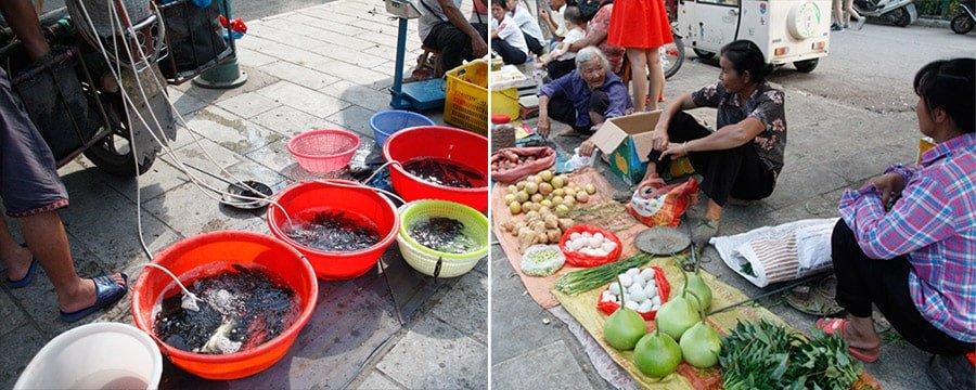 Mercat al carrer a Yangshuo
