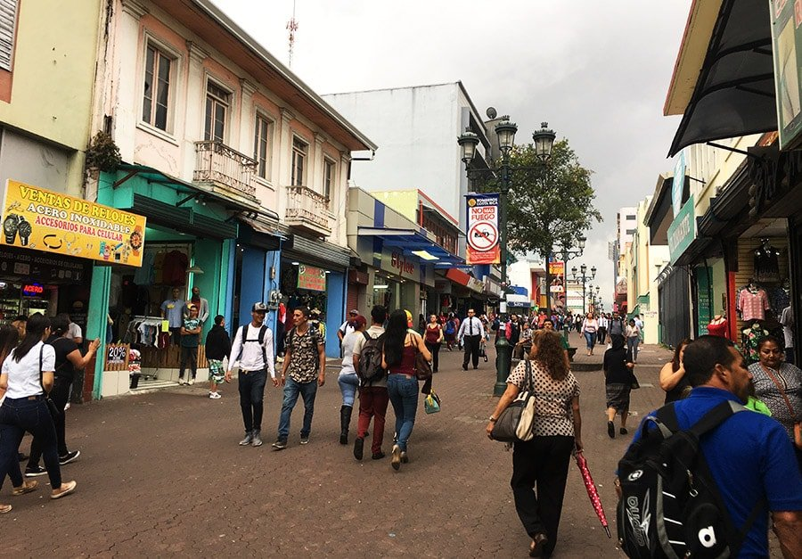 Avenida Central de San José