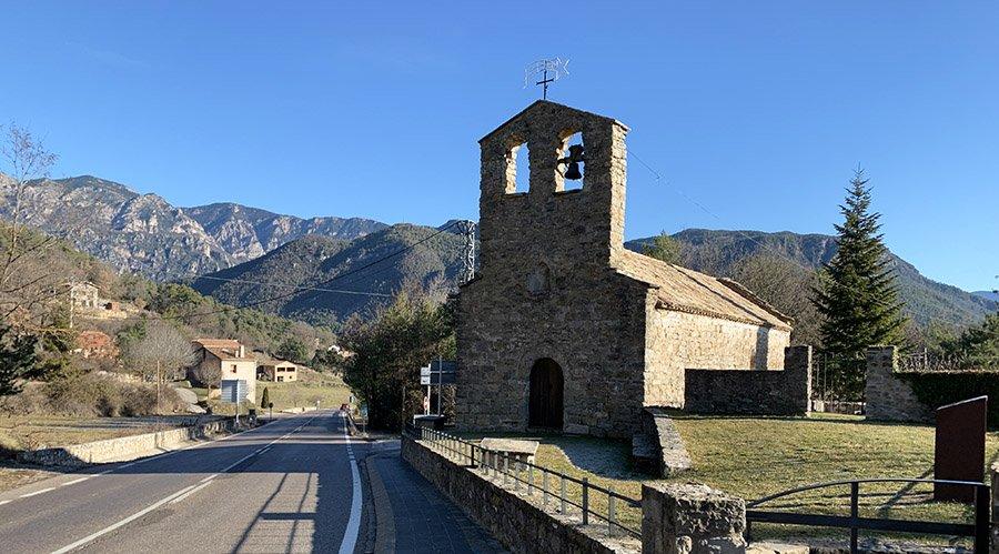 Església romànica Santa Creu d'Ollers, Sant Llorenç de Morunys