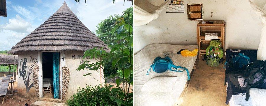 Habitació del campament Tako Mayo al País Bassari