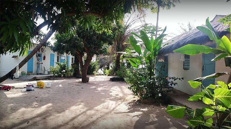 Allotjament Paradise Campement Auberge, Cap Skirring