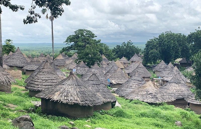 Poblat d'ètnia Bédik al País Bassari